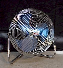 12 inch, 3 speed, portable floor fan