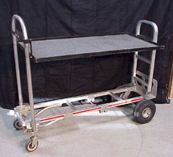 Anytime Rentals rents a complete assortment of both standard and custom dollies and carts designed to help make your production job run smoother